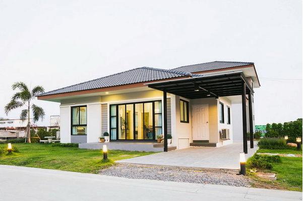 tấm lợp mái nhà, mái ngói, mái lợp nhà, nhà cấp 4 hiện đại, phong cách nhà 2019, tấm lợp ASA, tấm lợp PVC, tấm lợp xanh, tấm lợp M-GREEN, ngói nhựa ASA, mái nhà, ASA/PVC